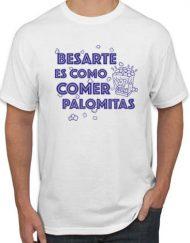 PALOMITAS BLANCA AZUL 190x243 - Camiseta PALOMITAS BLANCA Azul