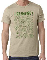 RESISTIRE KHAKI VERDE 1 190x243 - Camiseta RESISTIRÉ Kaqui