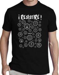 RESISTIRE NEGRO BLANCO 1 190x243 - Camiseta RESISTIRÉ Negra