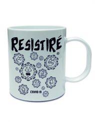 TAZA RESISTIRE NEGRO 190x243 - Taza RESISTIRÉ Negro