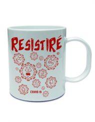 TAZA RESISTIRE ROJO 190x243 - Taza RESISTIRÉ Rojo