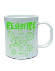 TAZA RESISTIRE VERDE 190x243 - Taza RESISTIRÉ Verde