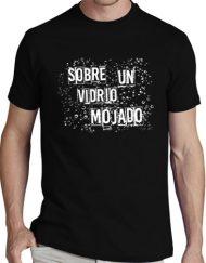 VIDRIO NEGRA BLANCO 190x243 - Camisetas Mujer