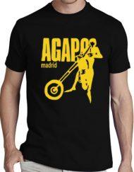 AGAPO NEGRA 190x243 - Camisetas Mujer