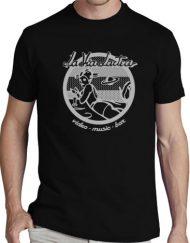 LA VIA LACTEA NEGRO GRIS 190x243 - Camisetas Mujer