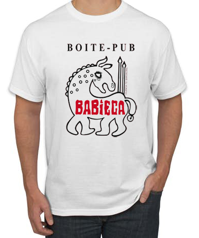 BABIECA BLANCA 1 - Camiseta BABIECA Blanca