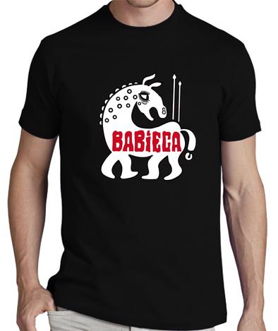 BABIECA NEGRA - Camiseta BABIECA Negra