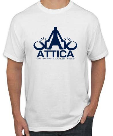 AQTTICA BLANCA - Camiseta ATTICA BLANCA