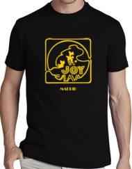 JOY NEGRA AMARILLO 190x243 - Camisetas Mujer
